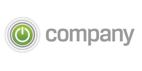 Power start button logo
