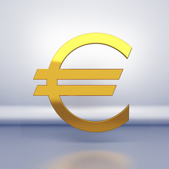 Sign of euro