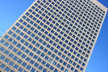 Hochhaus Fassade abstrakt