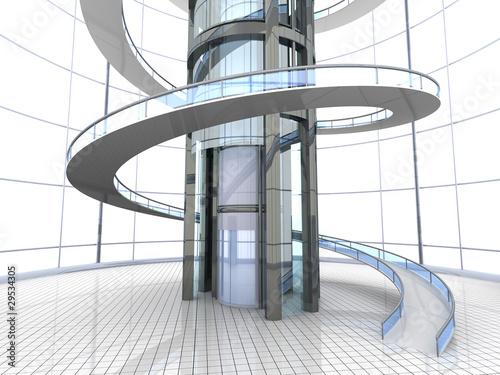 Futuristische architektur stockfotos und lizenzfreie bilder auf bild 29534305 - Futuristische architektur ...
