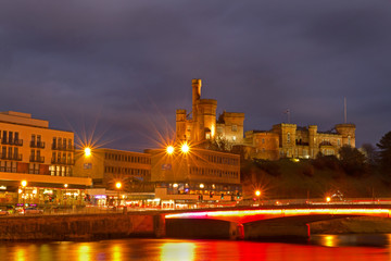 Inverness Castle and Bridge at Night