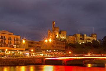 Inverness Castle and Bridge at Night