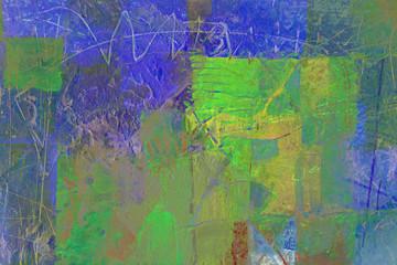 gemalter hintergrund auf leinwand