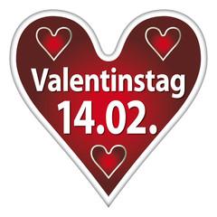 Valentinstag - 14.02. - Herz
