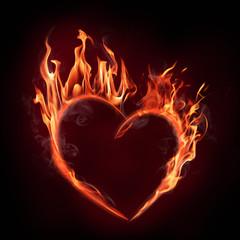 flamy heart symbol