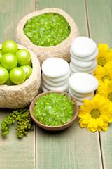 Bath minerals - body care and spa