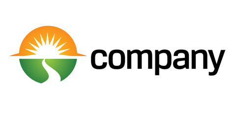 Way to sun logo for organization