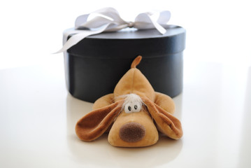 Cute puppy gift for a young girl