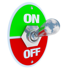 On and Off - Toggle Switch