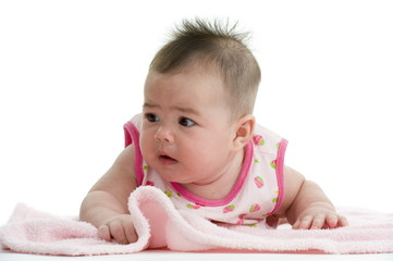 multi-racial baby