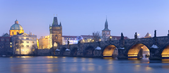 Fototapeten Prag prague charles bridge