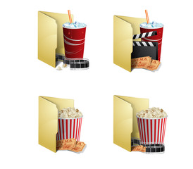 Cinema folder icons