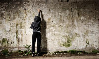 In de dag Graffiti Graffiti youth