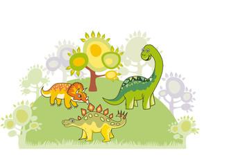 Dinosaur collection