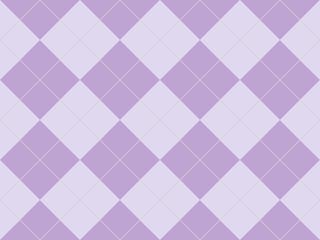 Seamless argyle pattern in purple rhombuses