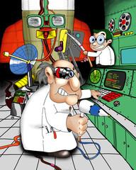 crazy scientist proffesors