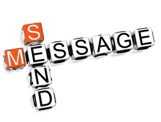 Send Message Crossword