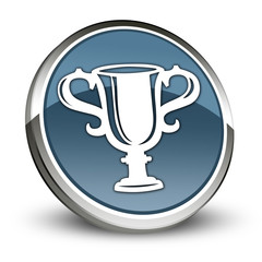 "Dark Blue 3D Style Icon ""Award Cup"""
