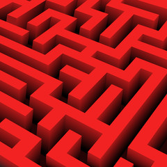 vector red maze texture