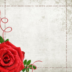 Romantic vintage background