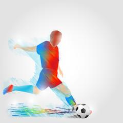 Sports training. Vector illustration.