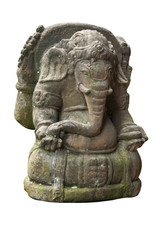 isolated eastern statue