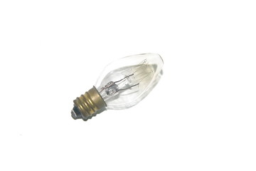 Clear electric lamp