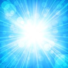 sun sparkled