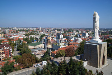 Haskovo - city of the tallest statue of the Virgin Mary