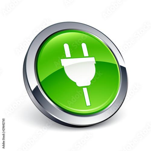 u0026quot ic u00f4ne bouton internet prise  u00e9lectrique  u00e9lectricit u00e9