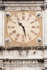 Foto op Aluminium Imagination Clock tower, City Hall of Modena, Italy