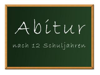 Abitur 12 Schuljahre