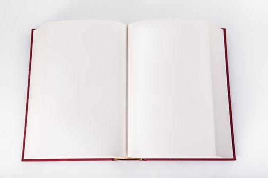 Leere Buchseiten