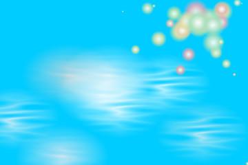 fons bleu zen