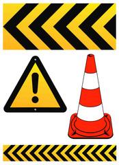 Warn-Zeichen