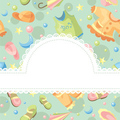 baby background illustration