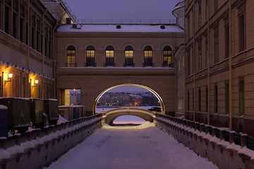 The Winter Canal