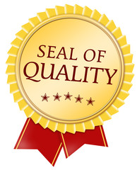 button seal of quality