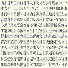 kanji set