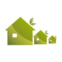 maisons verte