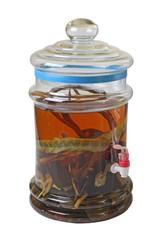 medicinal liquor glass bottles