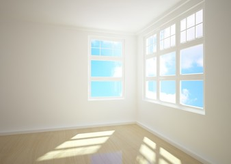 empty 3d interior