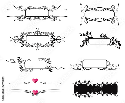 blank decorative text box stock image and royalty free vector files
