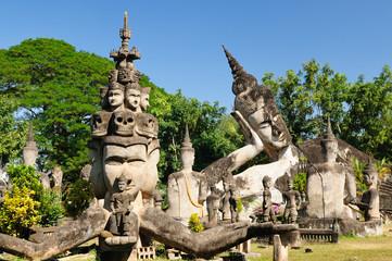 Lao, Vientiane - Xieng Khuan - buddha park
