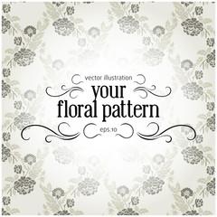 retro gray pattern