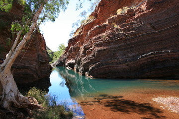 Printed kitchen splashbacks Australia Hamersley Gorge, Karijini National Park