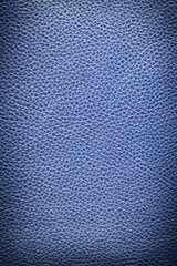 Image texture of blue leather.