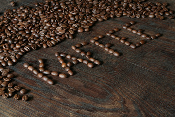 Kaffeebohnen als Stillleben