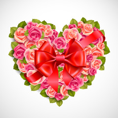 Wall Mural - Valentine`s day illustration