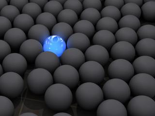 Boule Bleue